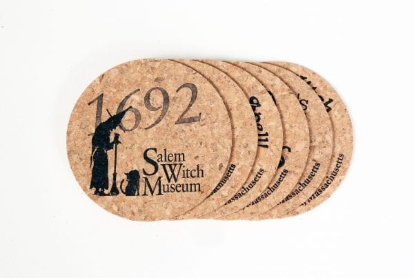 Witch Cork Coasters