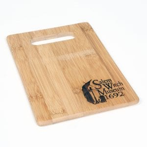 logo cutting board