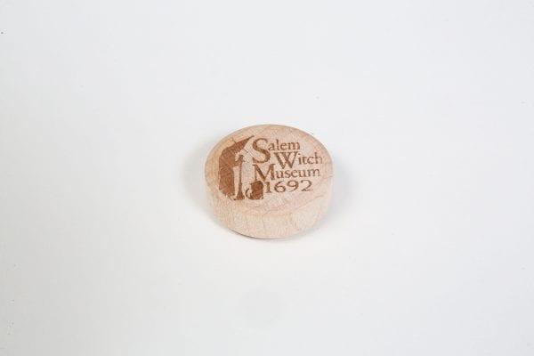 engraved logo magnet