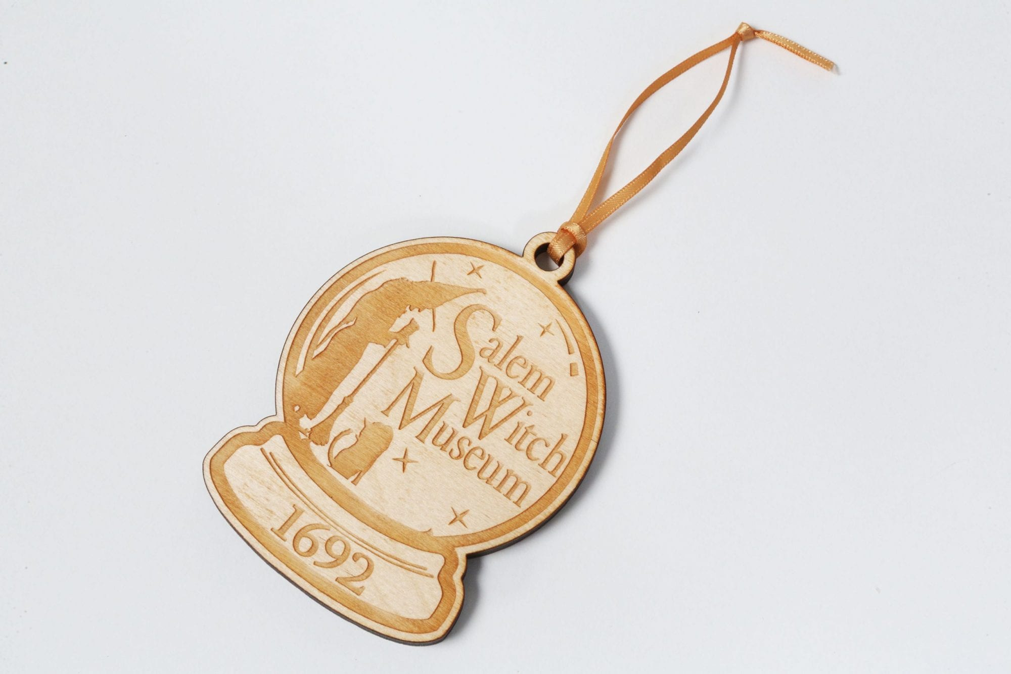 wood engraved ornament