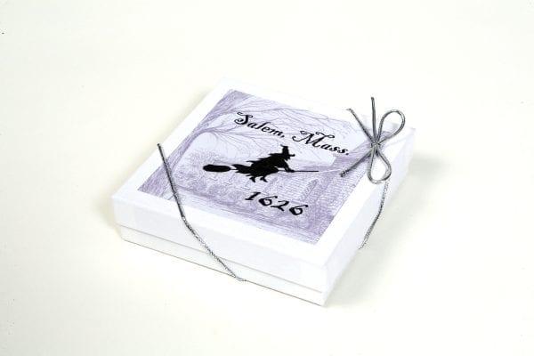 ceramic witch ornament box