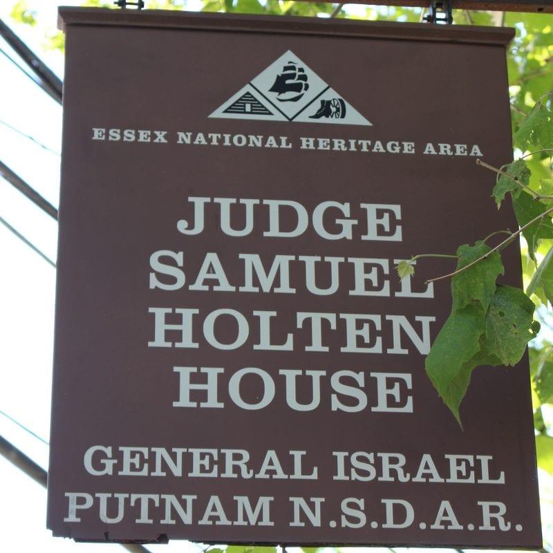 Sarah Holten House Sign