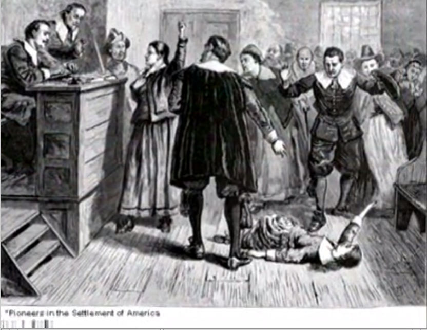 How were people accused of witchcraft in the Salem Witch Trials