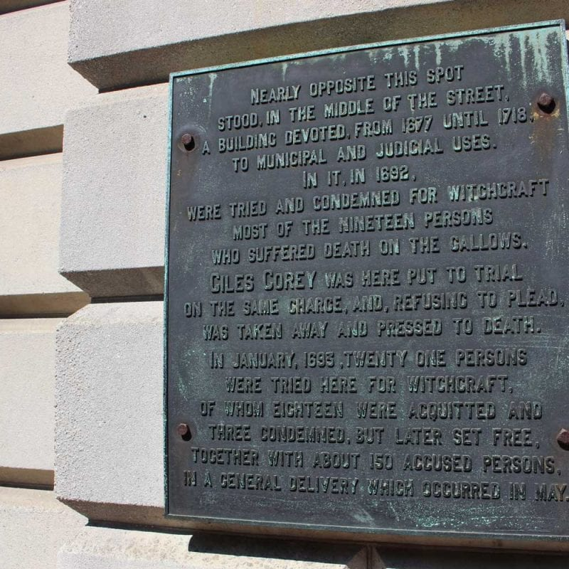 Salem Courthouse Sign Site