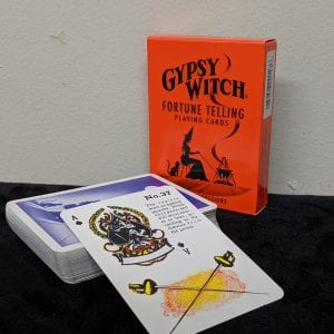 gypsy (orange) witch cards