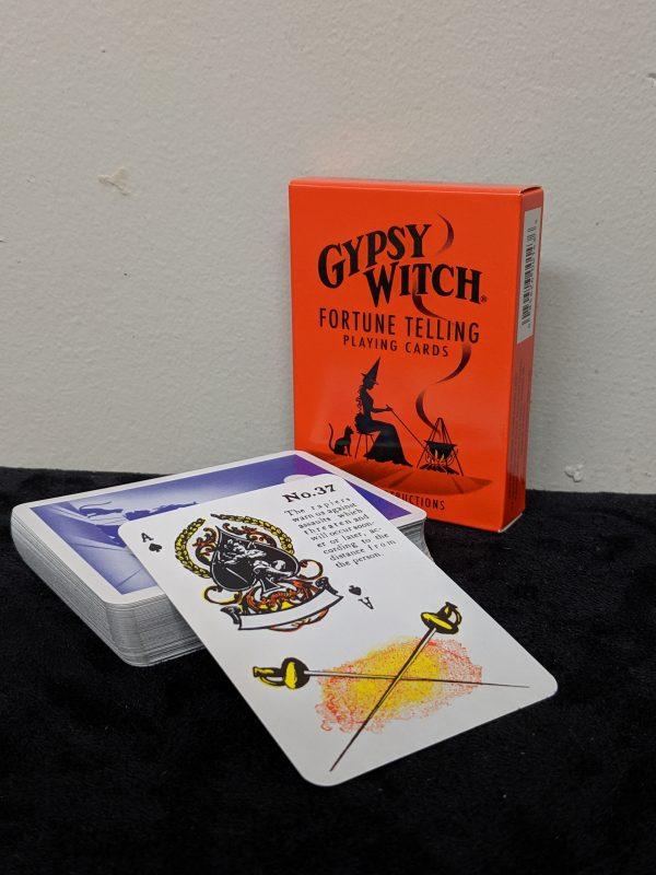 gypsy (orange) witch cards