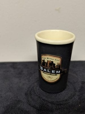 emblem shot glass