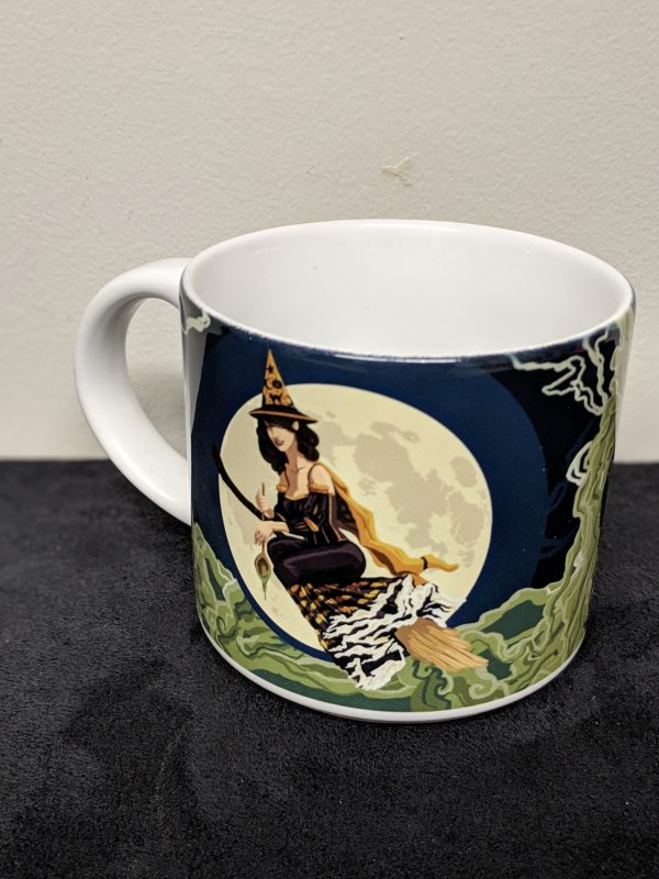 pin up with large mug