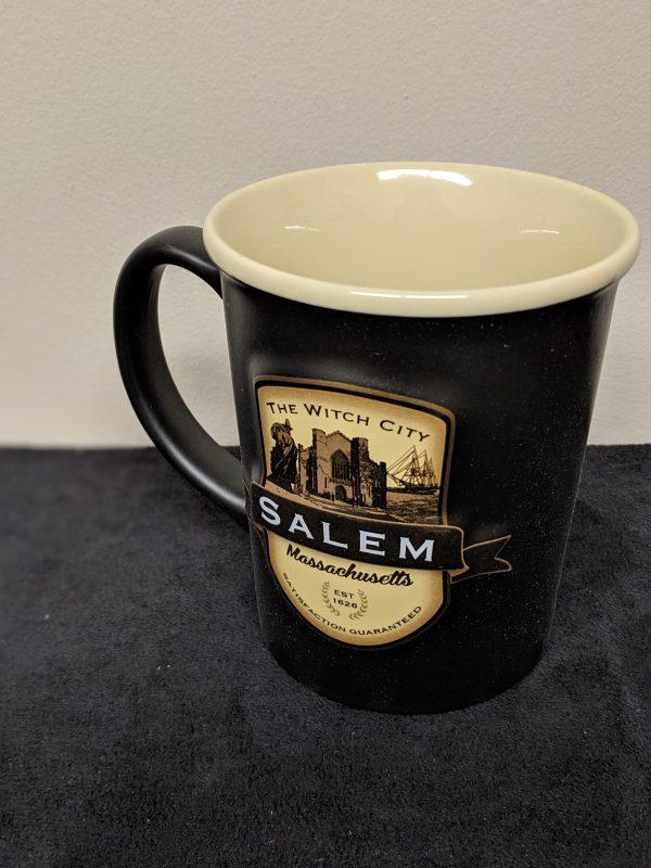 large mug with emblem