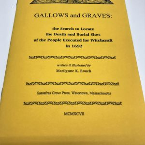 Yellow gallows and graves book front