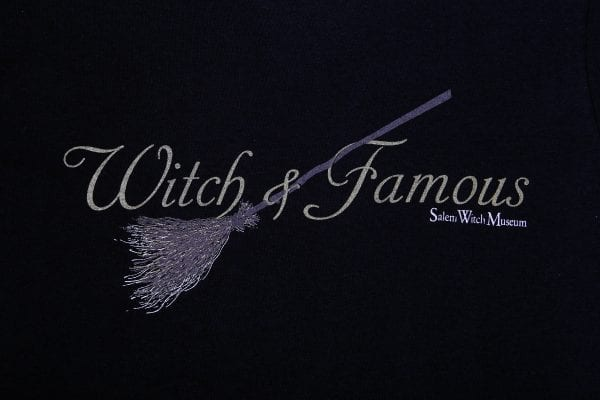 Witch and Famous logo.