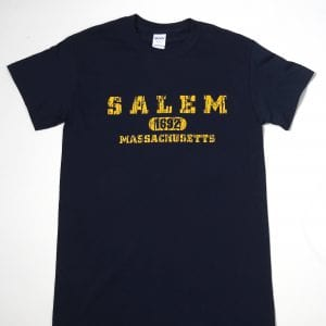 Navy Blue Salem 1692 T-Shirt