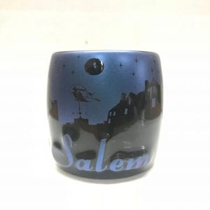 Blue and Black Night Sky shot glass
