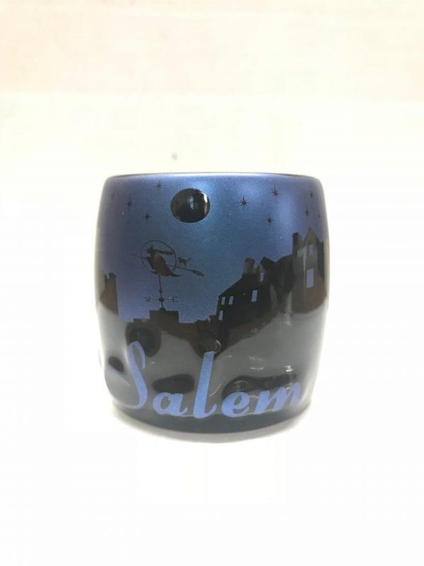 Blue and Black Night Sky shot glass