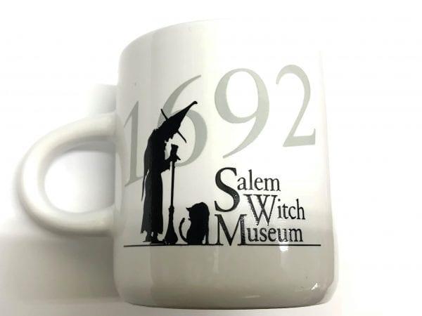 white espresso mug, SWM logo