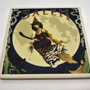 pin up witch coaster
