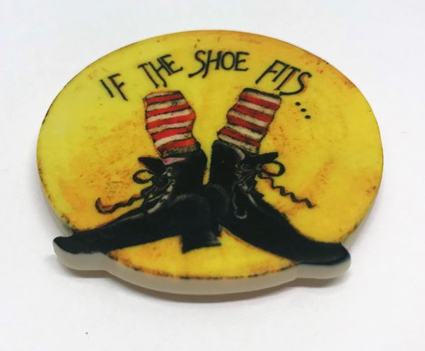 if the shoe fits magnet