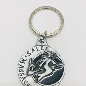 Salem Pewter Keychain