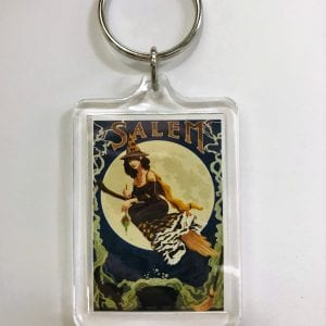 pin up witch key chain