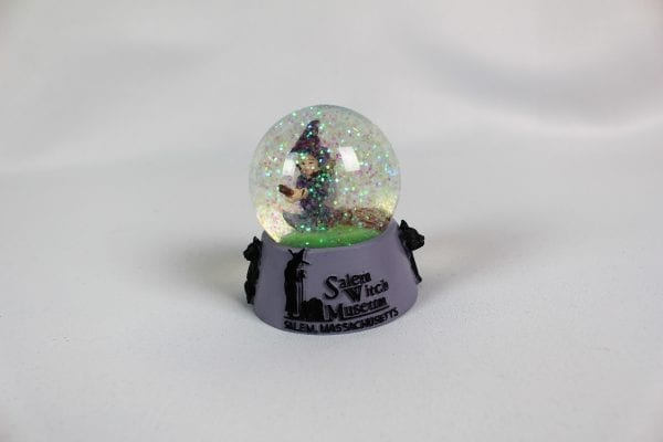 side image witch snow globe