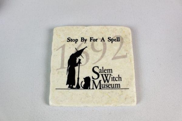 Stone coaster SMW logo