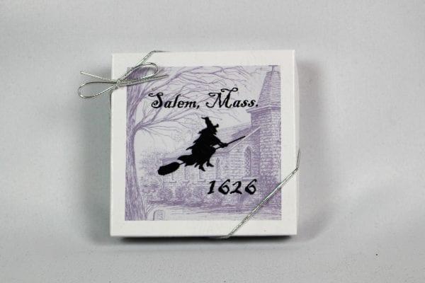 Stone ornament Salem, ma box