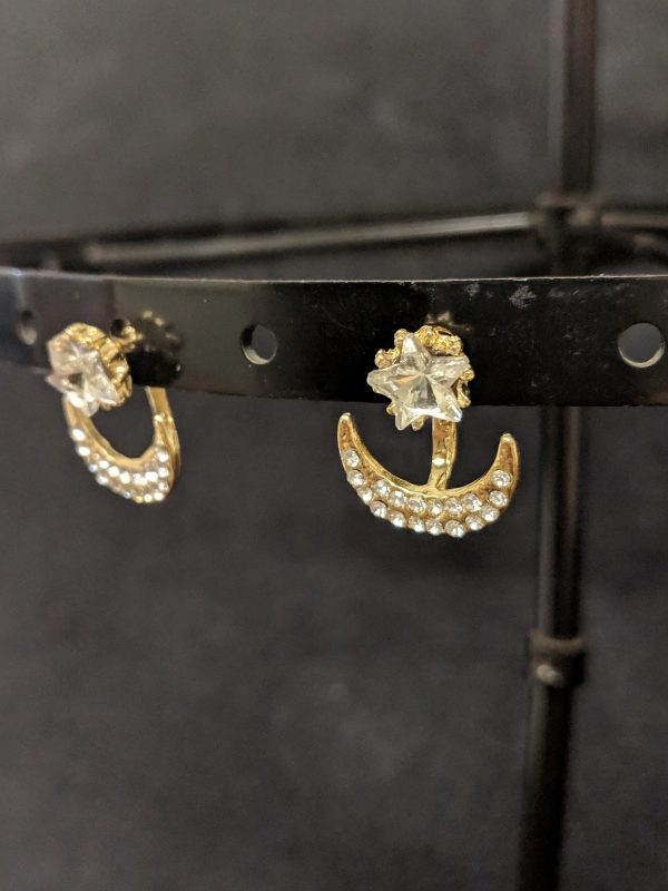 Earrings hamging