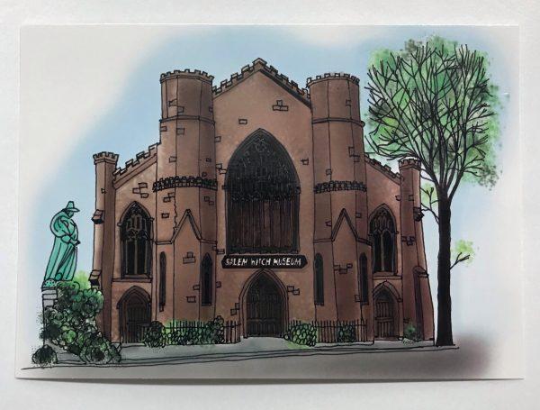 swm drawn postcard
